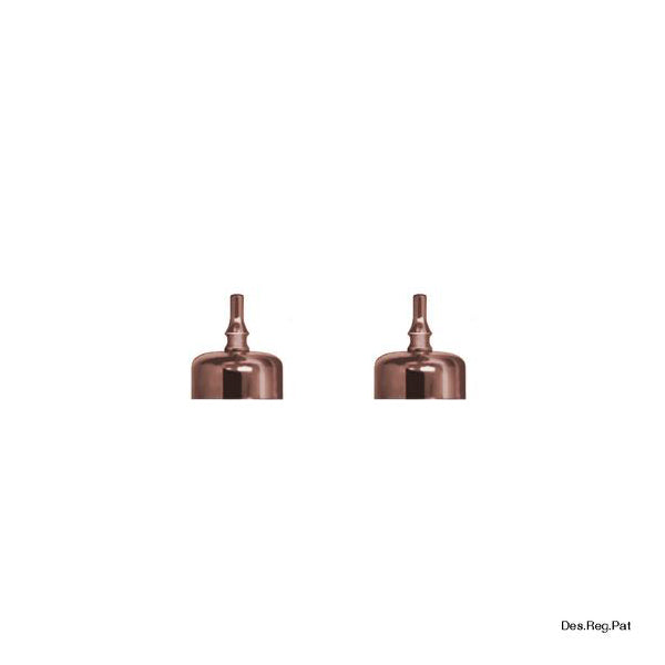 Bitters Bottle Lid Copper (2 Pack)
