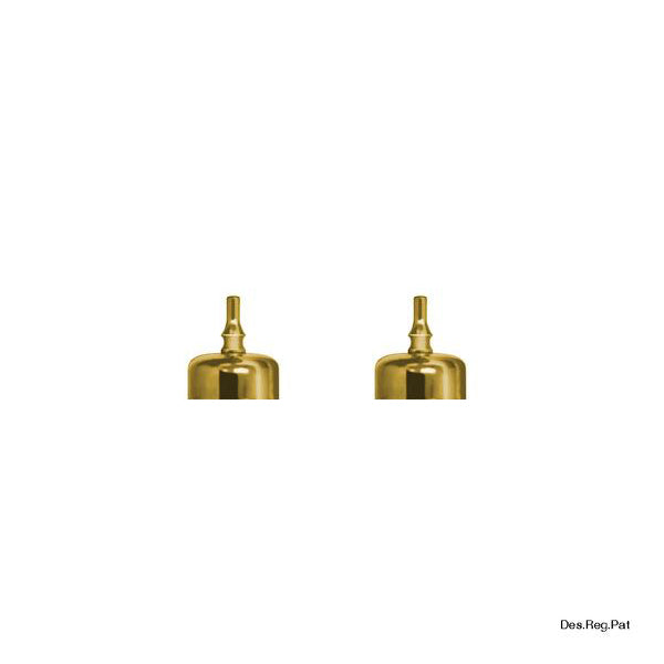 Bitters Bottle Lid Gold (2 Pack)