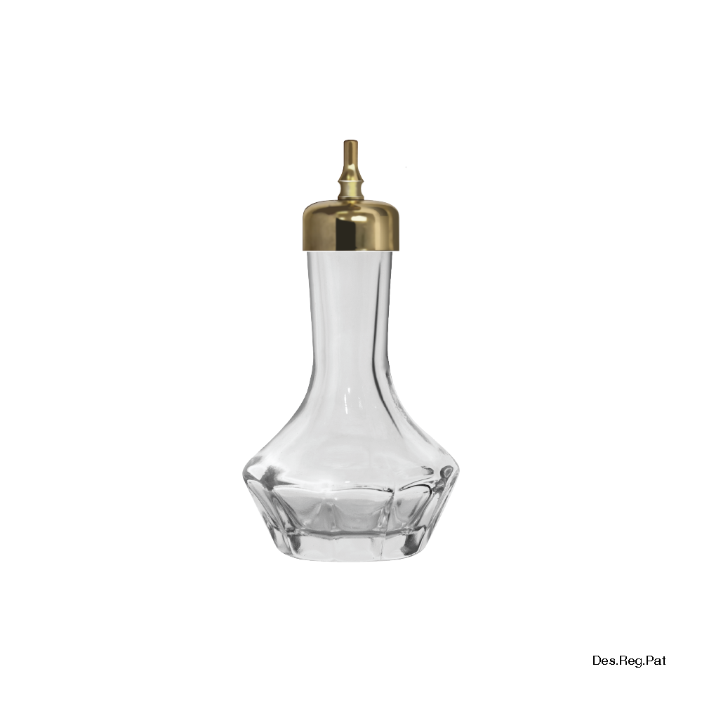 Bitters Bottle 30 mL Gold