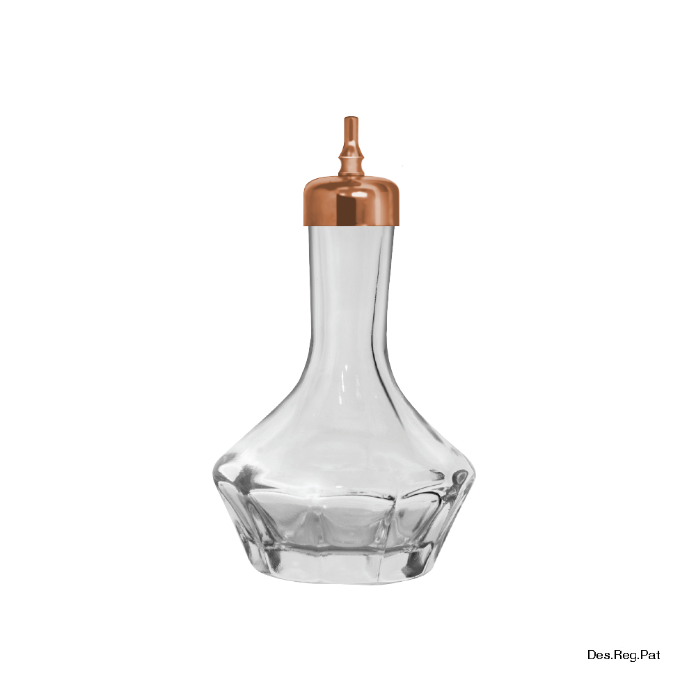 Bitters Bottle 50 mL Copper