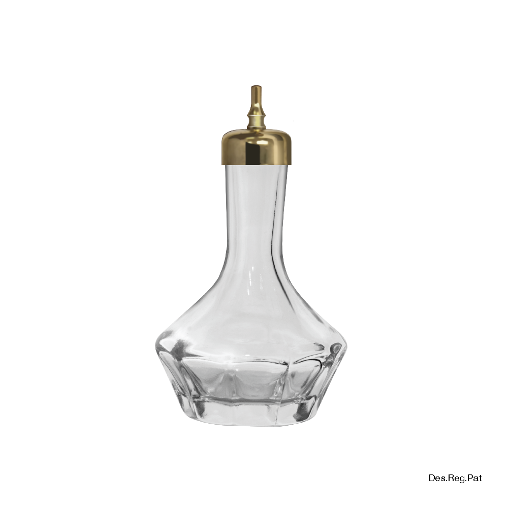 Bitters Bottle 50 mL Gold