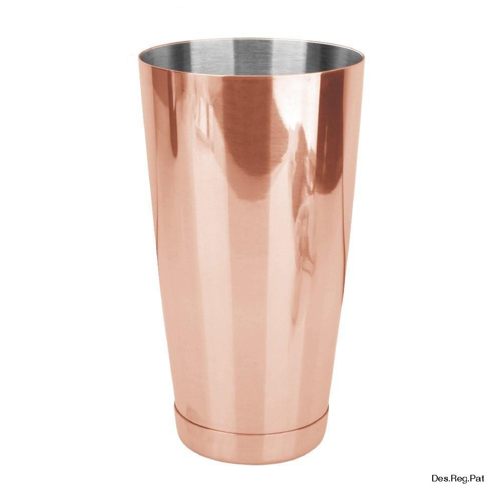 Bartender Classic Set Copper (Incl. Boston & Toby Tin w/ Weighted Base)