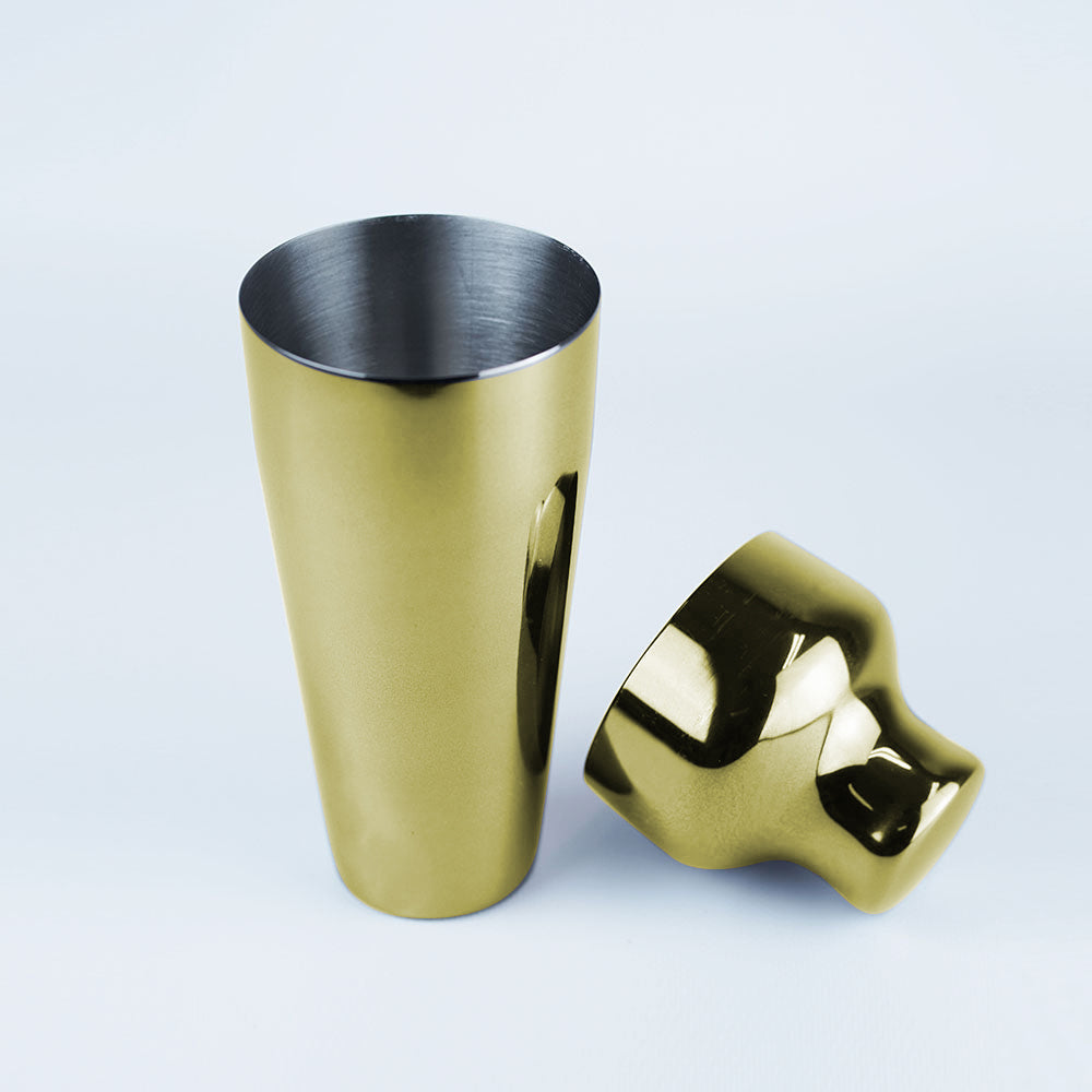 Shaker & Jigger Set Gold
