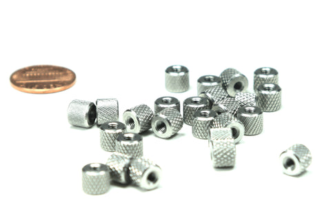 M3 x 0.5 Thumb Nut, 25 Pieces