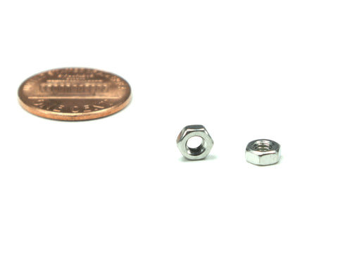 M3 x 0.5 Nut, 25 Pieces