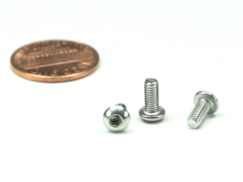 M3 x 0.5 x 7mm Pan Head Screw, 25 Pieces