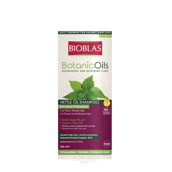BIOBLAS BOTANIC OILS HERBAL VOLUME SHAMPOO 360ML (5952167182496)
