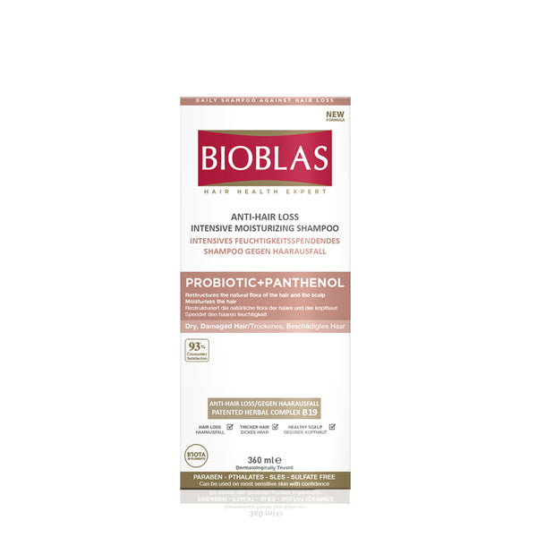 BIOBLAS ANTI-HAIR LOSS INTENSIVE MOISTURIZING SHAMPOO 360ML (5952392331424)