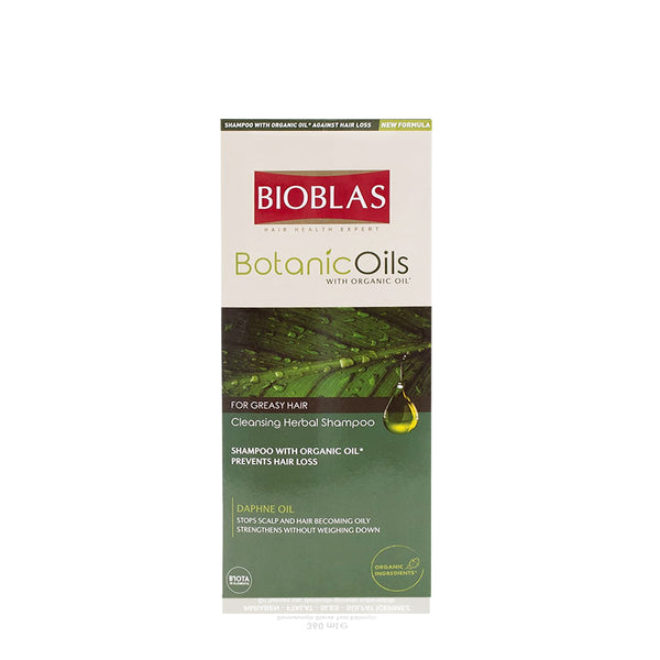 BIOBLAS BOTANIC OILS CLEANSING HEARBAL SHAMPOO 360ML (5952413270176)