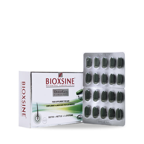 BIOXSINE DERMAGEN FOOD SUPPLEMENT FOR HAIR TABLETS 40'S (5684671185056)