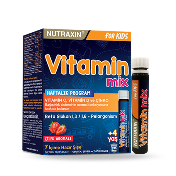 NUTRAXIN VITAMIN MIX  7 * 25ML BOTTLES (5930931585184)