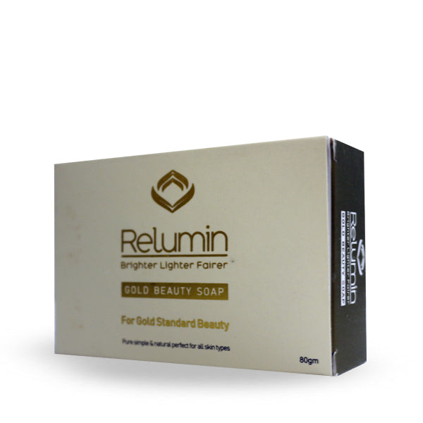 RELUMIN GOLD BEAUTY SOAP 80 GM (5931057217696)