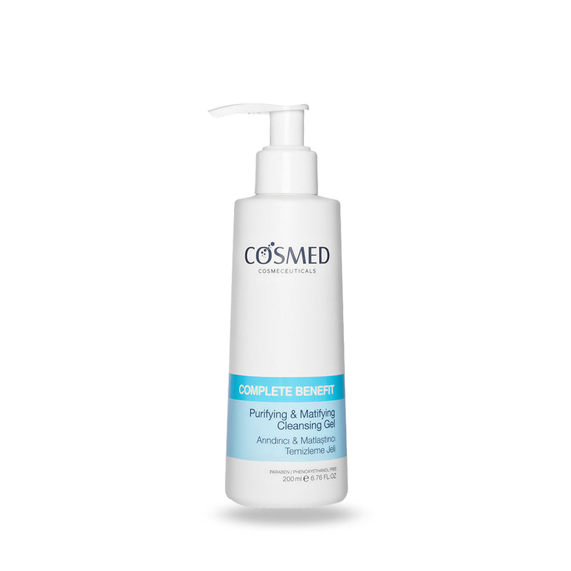 Cosmed Complete Benefit Purifying & Mattifying Cleansing Gel 200 ml (5684643365024)