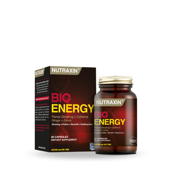 Nutraxin Big Energy 100 Tab (5684016611488)