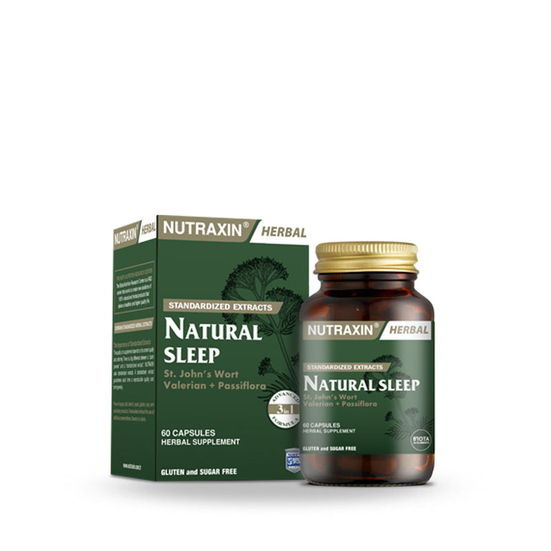 Nutraxin Natural Sleep 60 Tab (5683954942112)