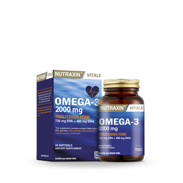 Nutraxin Omega-3 60 Softgel (5684008386720)