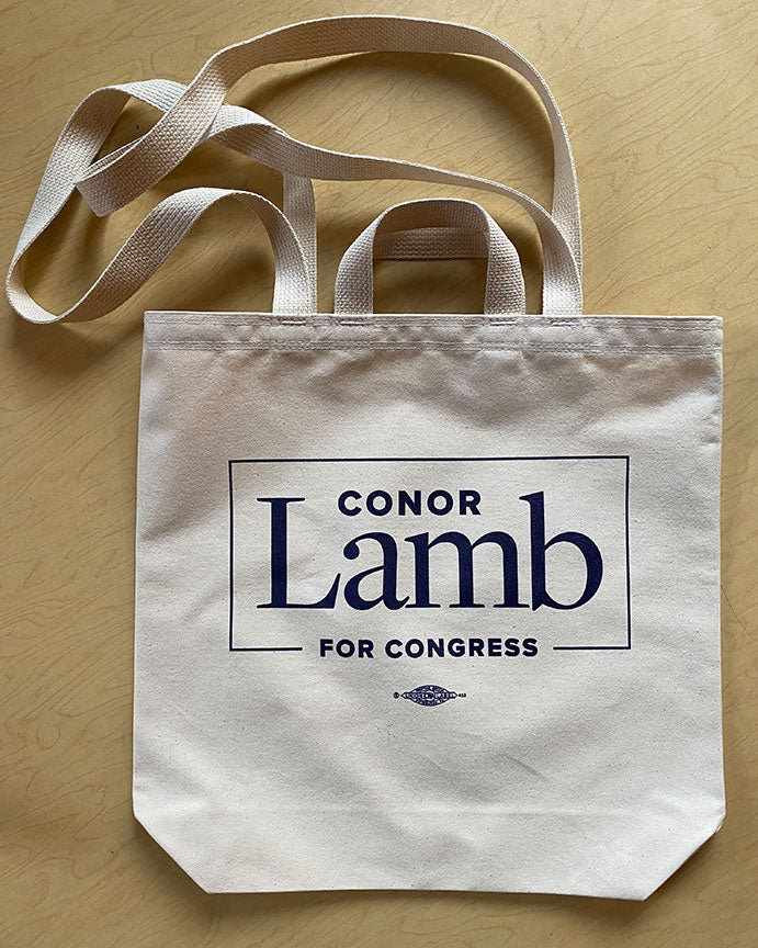 Conor Lamb Tote - made in Pittsburgh