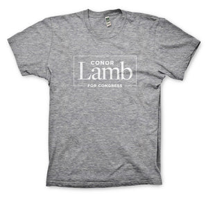 Conor Lamb Heather Grey T-shirt