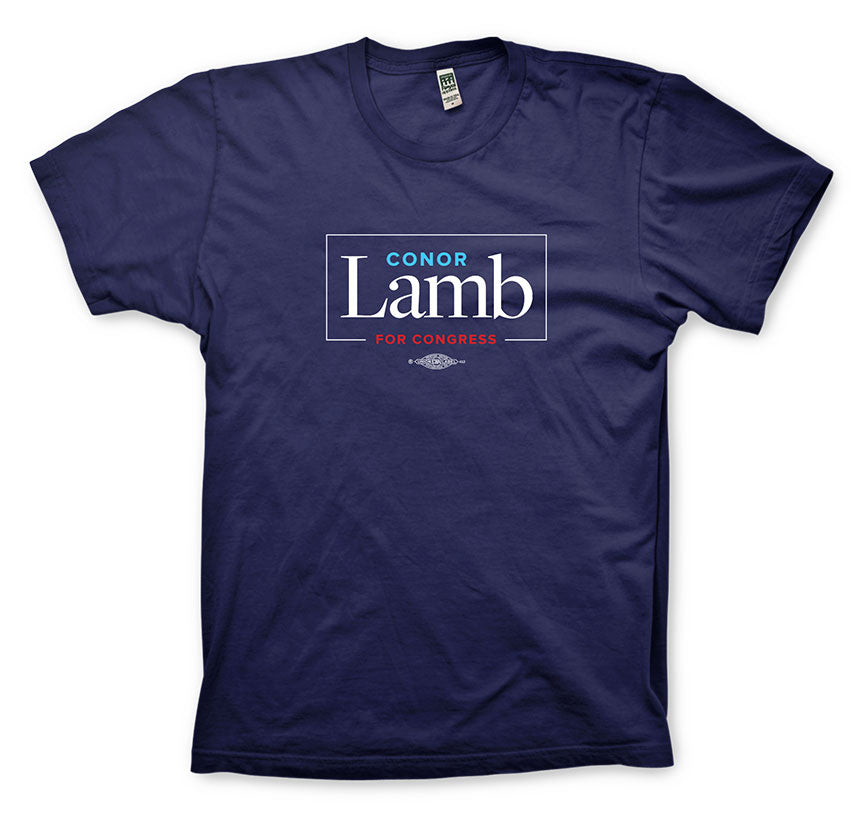 Conor Lamb Navy T-shirt