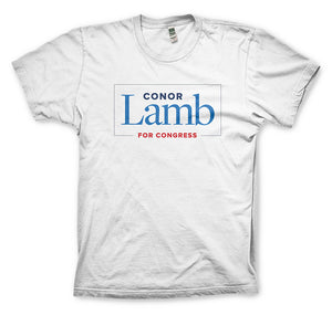 Conor Lamb White T-shirt