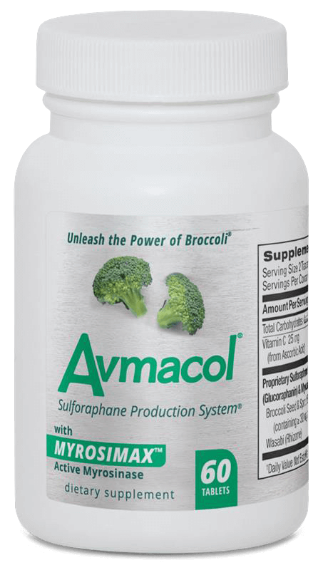 60 count bottle of Avmacol Regular Strength