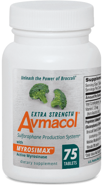 Bottle of Avmacol® Extra Strength - 75 Count