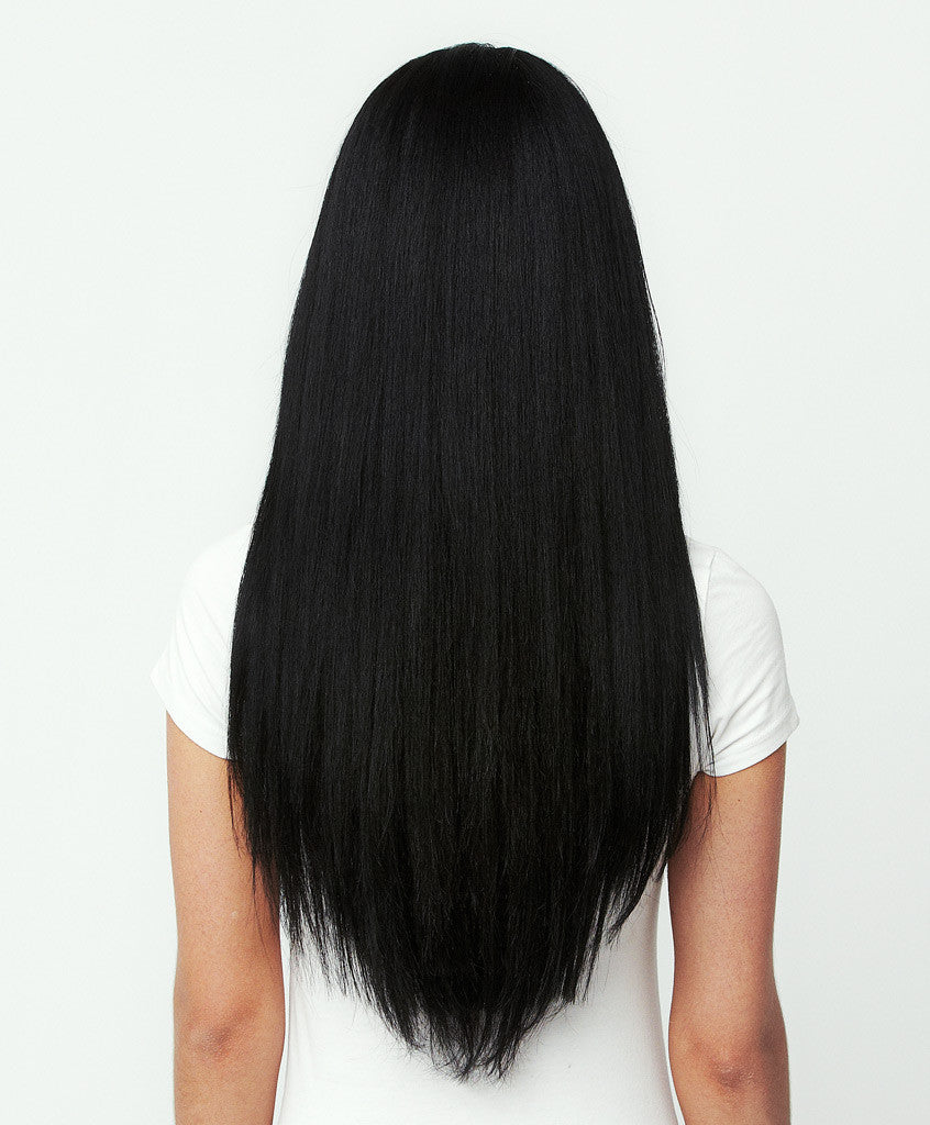 Clip ins extensions jet black its pretty hair clip ins extensions jet black pmusecretfo Choice Image
