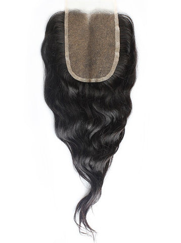 Natural Wavy Silk Closure