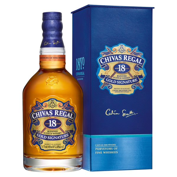 Chivas Regal 18 Year Old Blended Whisky 70cl