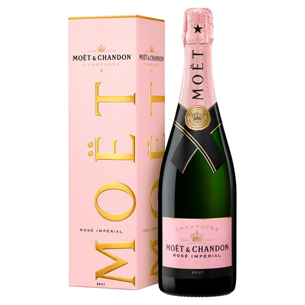 Moet & Chandon Rose Imperial Non Vintage Champagne 75cl