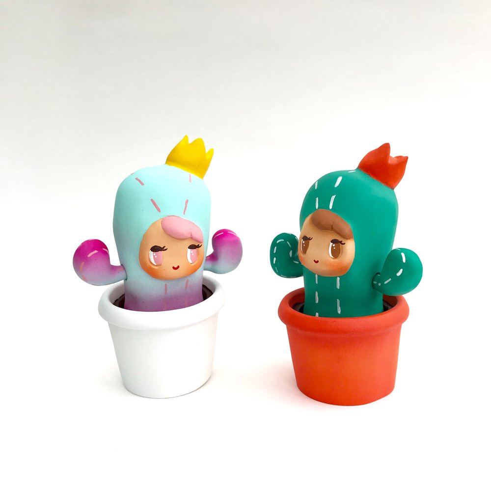 Reserved Cactus girl for Twinderbella