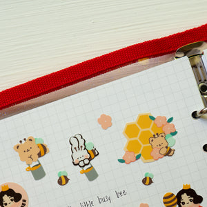 A74-Bee Sticker sheet