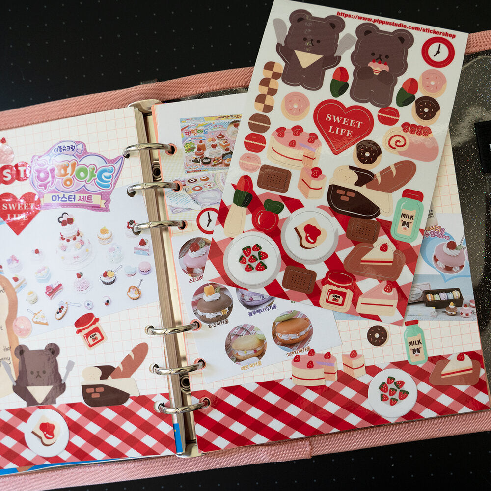 Sweet life sticker sheet: sweet life collection