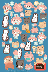 A53-Heal me sticker sheet