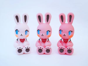 Jody the pink rabbit (pale pink color)
