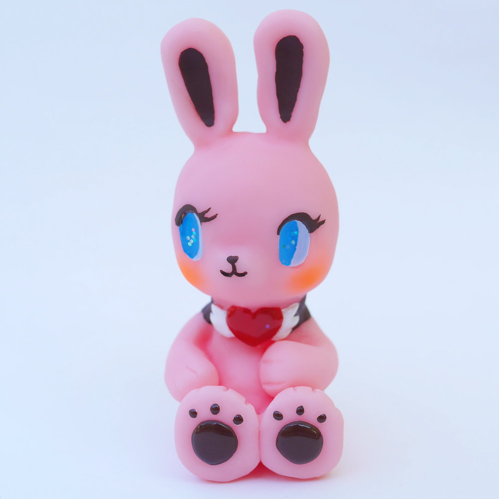 Jody the pink rabbit (pink color)