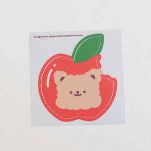 A20-Apple bear sticker