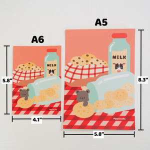 Cookie's jar print: bear bakery collection