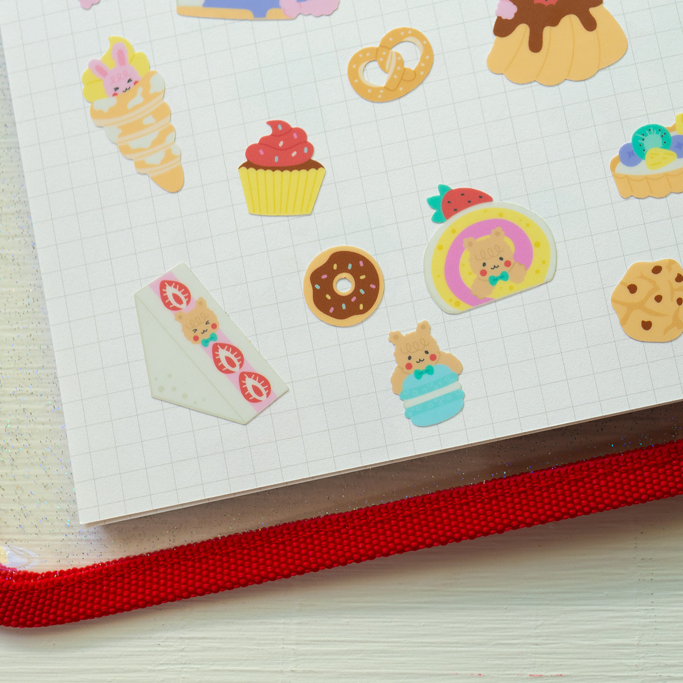 A82-Super dessert 2 sticker sheet