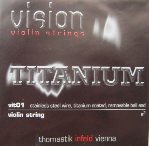 violin strings-Thomastic Infeld-E Titanium
