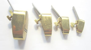 Finger planes- Brass-set of 4-arched sole