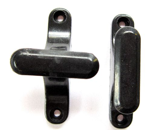 violin/viola/cello case-bow holder replacement parts-black