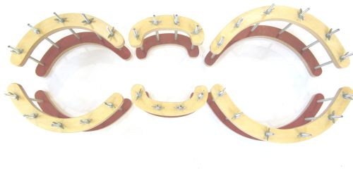Cello-set of garland of gluing clamps