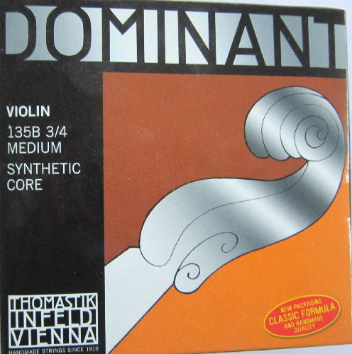 Violin strings-Thomastik Dominant 3/4