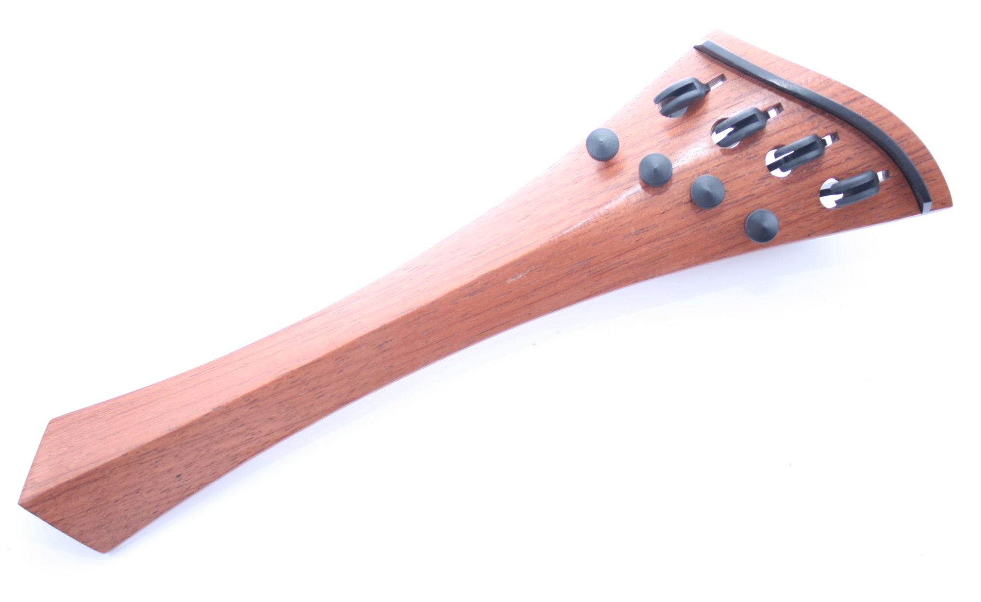 "Cello tailpiece-""Schmidt Harp-style""-Mangrove-4 tuners"
