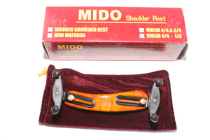 Violin shoulder rest- small sizes- Maple- Adjustable- by Mido