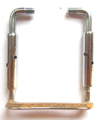 Violin chinrest brackets-standard chrome