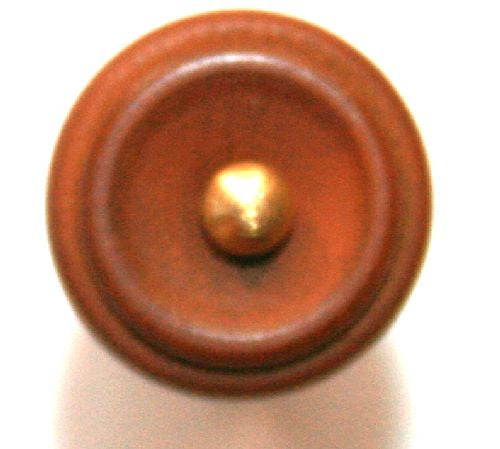 Viola endpin-Boxwood-New Hill-gold pin