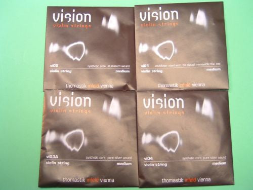Violin strings-Thomastik Vision-1/16-1/2
