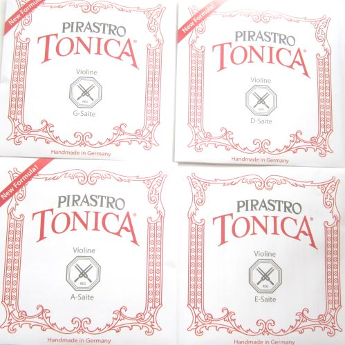 Violin strings-Pirastro Tonica-set